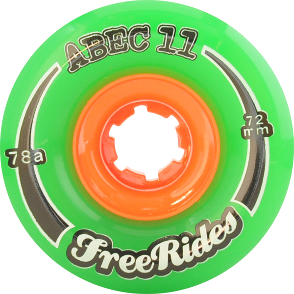 Abec11 Freeride 72Mm 78A
