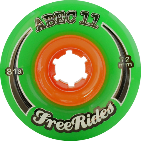 Abec11 Freeride 72Mm 81A