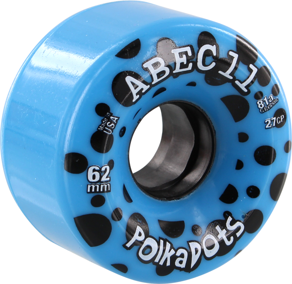 Abec11 Polka Dots 62Mm 81A Blue/Blk