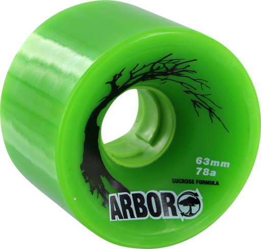 Arbor Biothane 63Mm 78A Green Sale