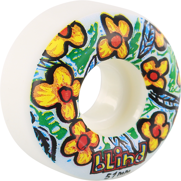 Blind Flowers 51Mm Wht/Blue