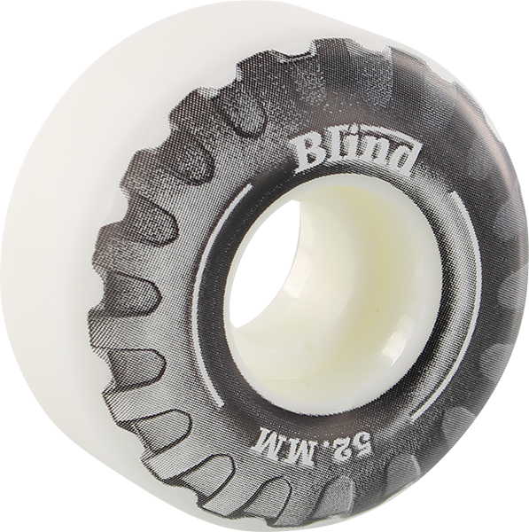 Blind Truck 52Mm Wht/Blk Ppp