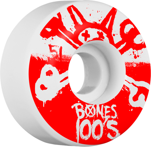 Bones 100'S Og #10 51Mm Wht/Red Ppp