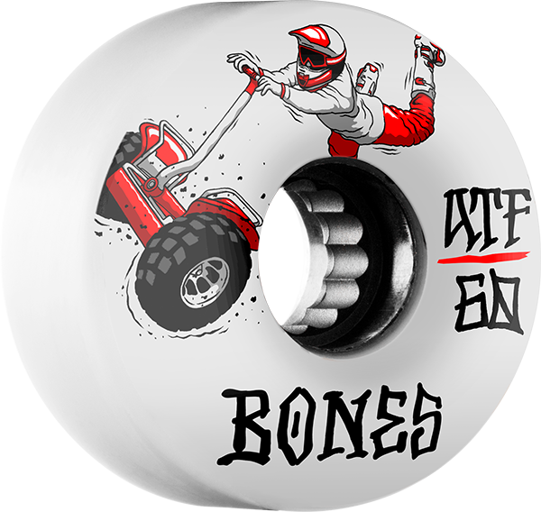 Bones Atf Seg Cross 60Mm  80A White