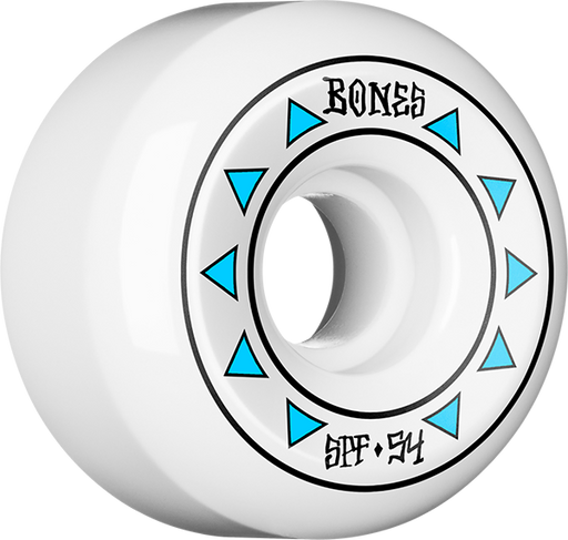 Bones Spf Arrows 54Mm 84B White/Blue