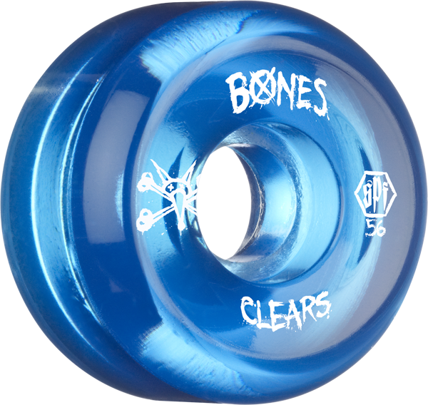 Bones Spf Clears 56Mm Clear Blue