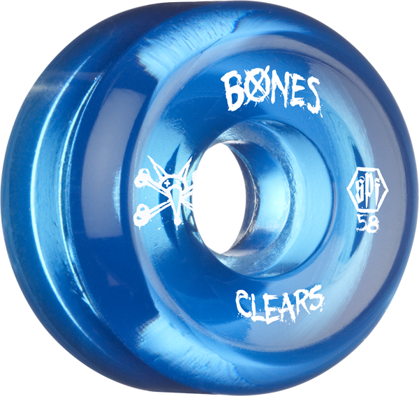 Bones Spf Clears 58Mm Clear Blue
