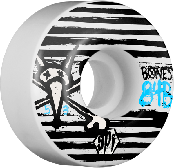 Bones Spf Strokes 53Mm White