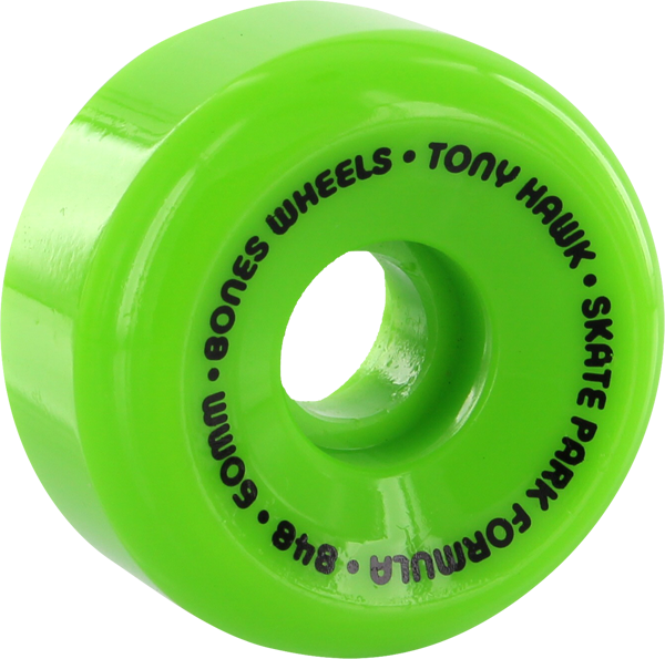 Bones Hawk Spf Mini Cube 60Mm Grn/Blk