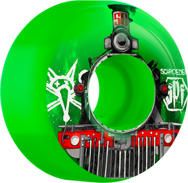 Bones Schroeder Spf Train 56Mm Green