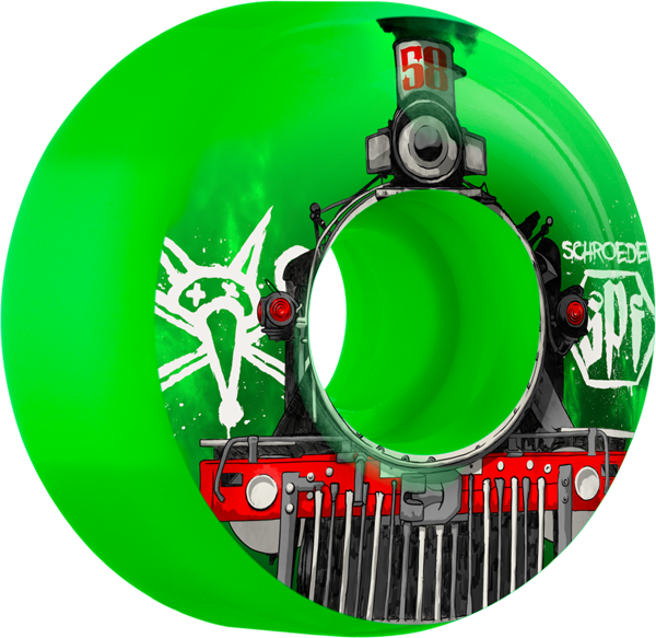 Bones Schroeder Spf Train 58Mm Green