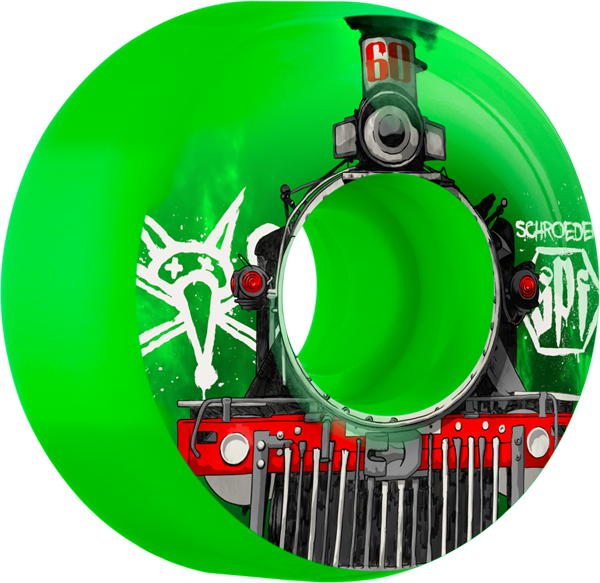 Bones Schroeder Spf Train 60Mm Green