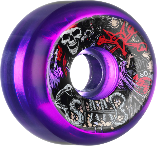 Bones Staab Spf Ghost Pirate 60Mm Clr.Purple