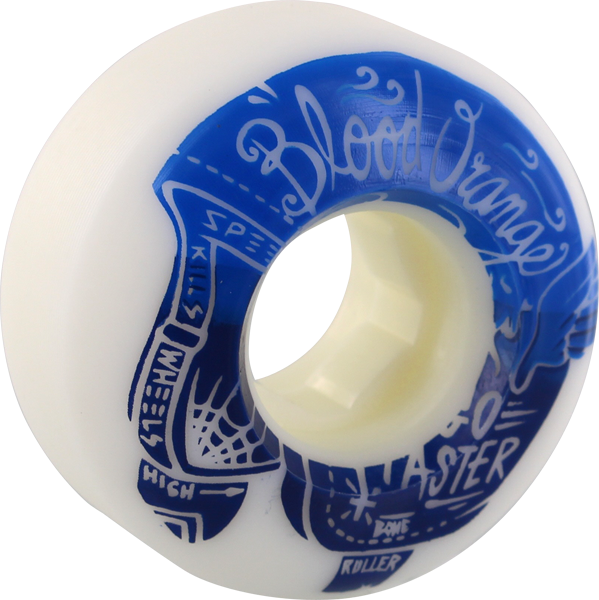 Blood Orange Street Rounded 52Mm 99A Wht/Blu