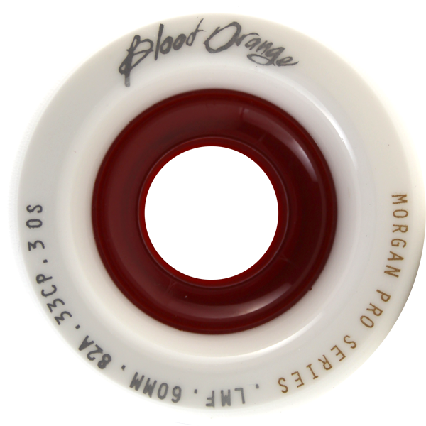 Blood Orange Morgan 60Mm 82A Wht/Red