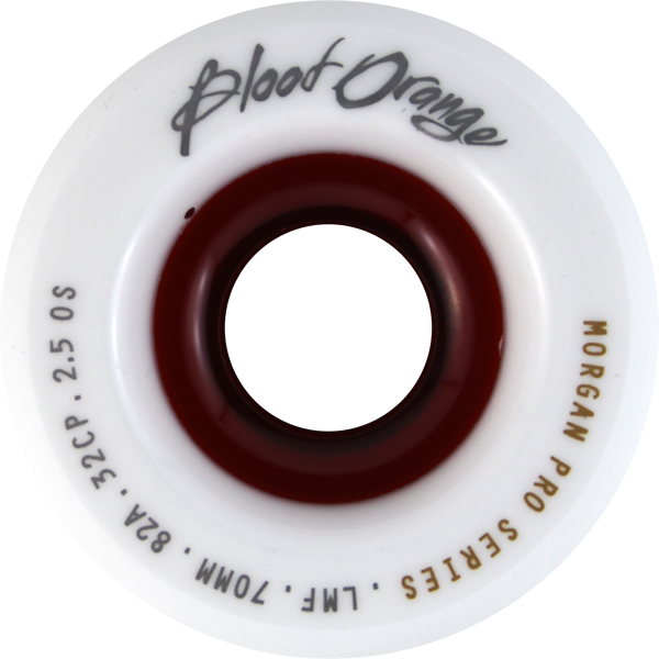 Blood Orange Morgan 70Mm 82A Wht/Red