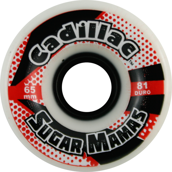 Cadillac Sugar Mamas 65Mm 81A White