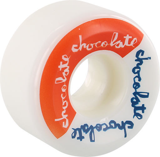 Choc Split Conical 52Mm Wht/Red/Blu