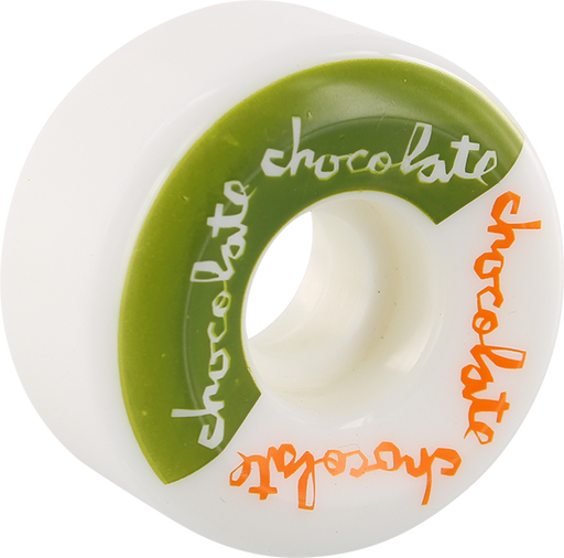 Choc Split Conical 54Mm Wht/Grn/Org