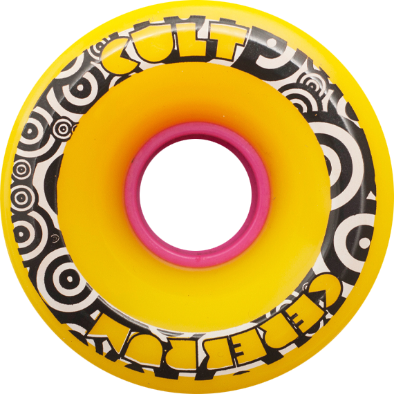 Cult Cerebrum 71Mm 80A Yellow Centerset