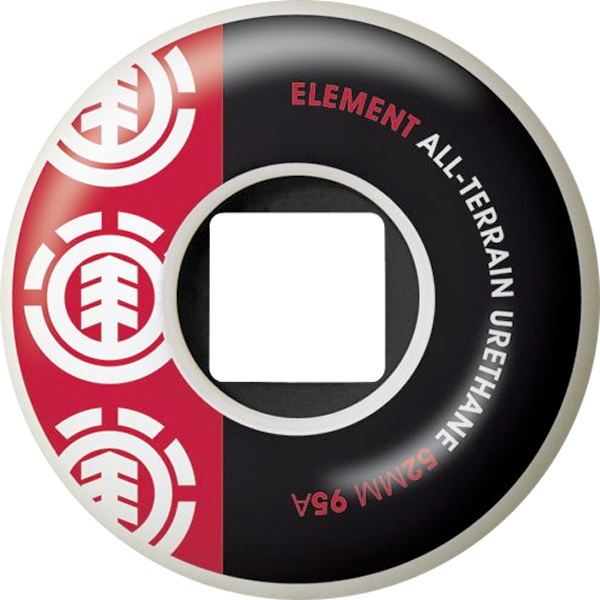 El Section 52Mm Wht Blk/Red 95A At Ppp