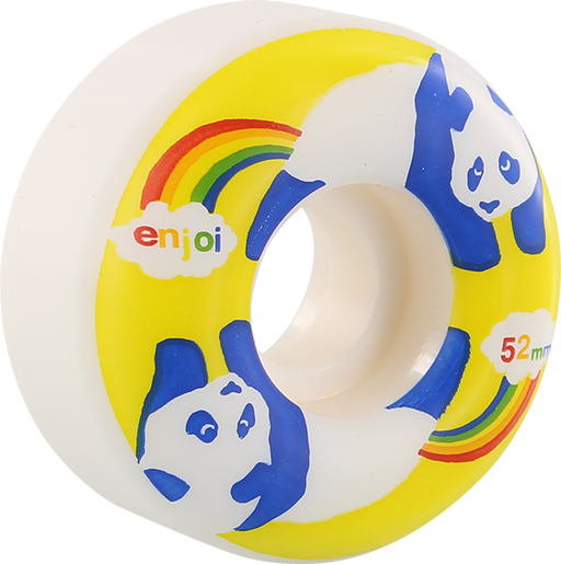 Enjoi Rainbow Fart 52Mm Wht/Yel
