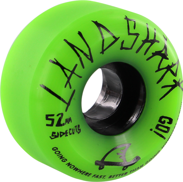 Landshark Logo Sidecuts 52Mm Green
