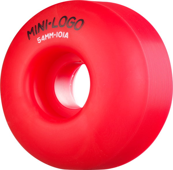 Mini Logo C-Cut 54Mm 101A Red Pp