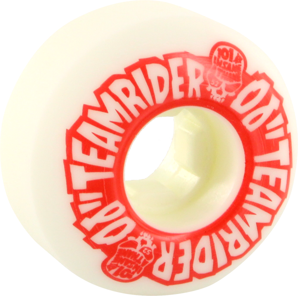 Oj Team Rider Ez Edge 52Mm 101A Wht/Red