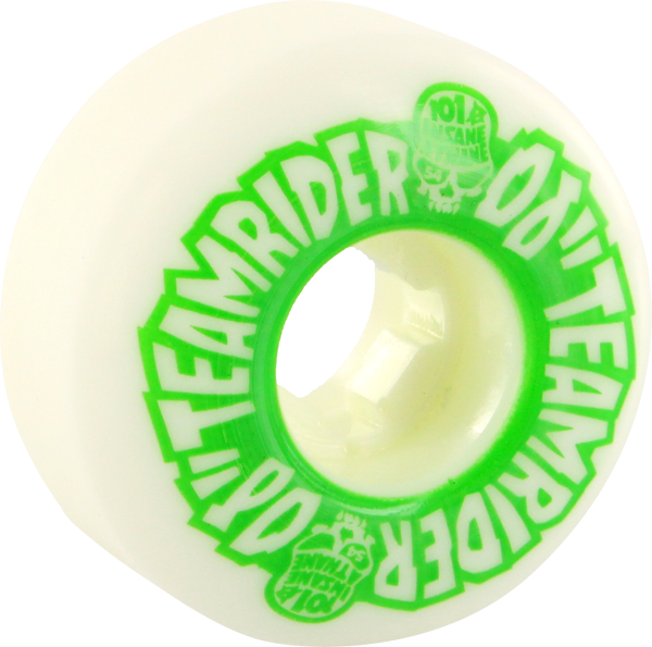 Oj Team Rider Ez Edge 54Mm 101A Wht/Grn