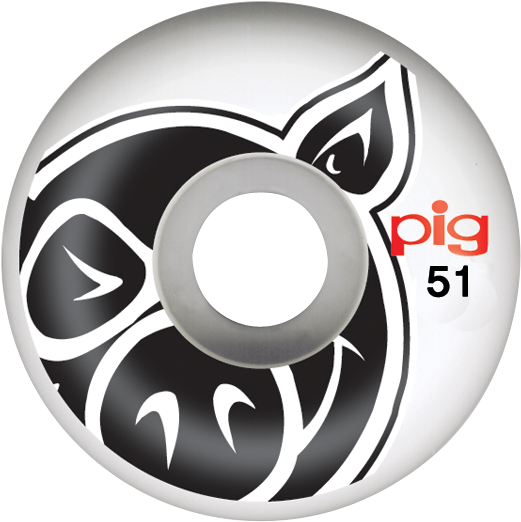 Pig Head Natural 51Mm