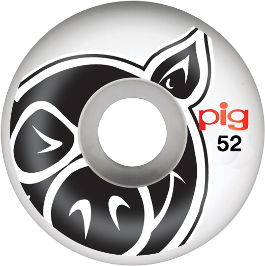Pig Head Natural 52Mm