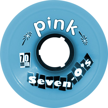 Pink Seven-O's 70Mm 81A Blue