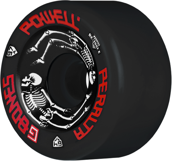 Pwl/P G-Bones Ii 97A 64Mm Black
