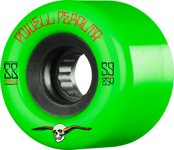 Pwl/P G-Slides 59Mm 85A Grn/Blk
