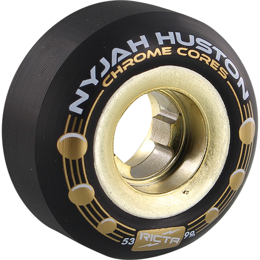 Ricta Nyjah Chrome Core Holes 53Mm 101A Blk/Gold
