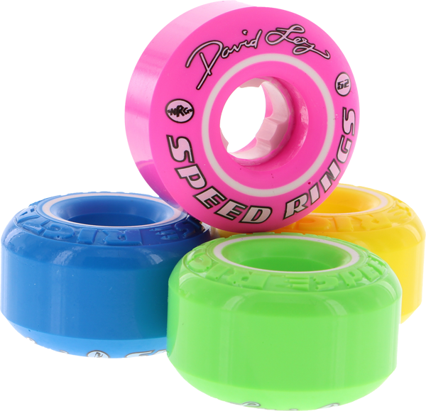 Ricta Loy Speedrings 52Mm Mix Yel/Blu/Grn/Pnk