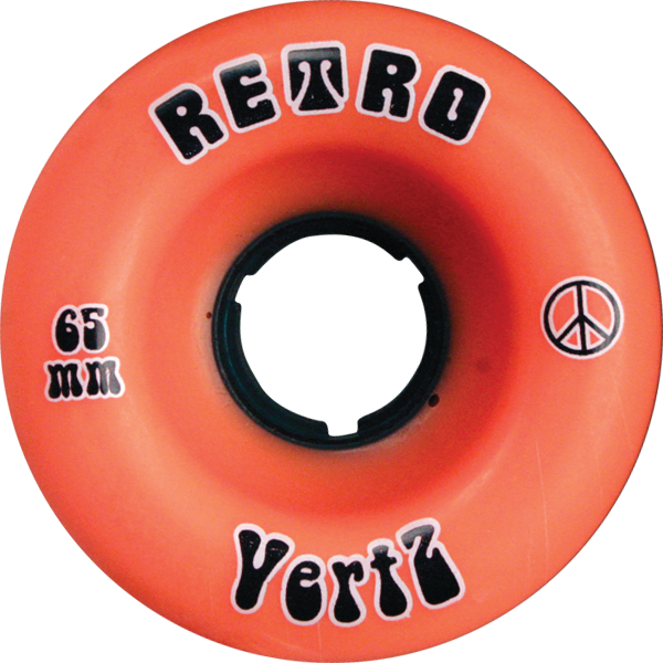 Retro Vertz 65Mm 96A Orange