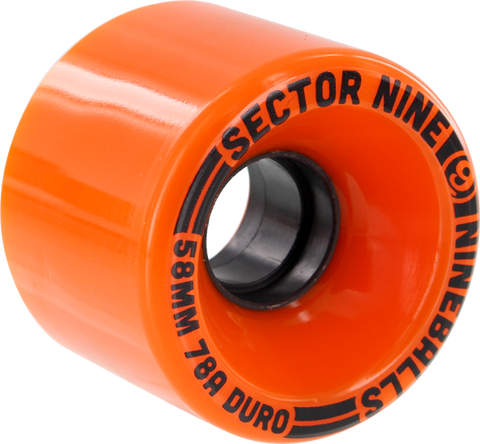 Sec9 9 Ball 58Mm 78A Solid Orange