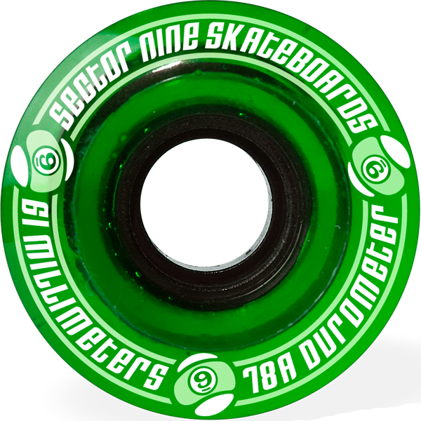Sec9 9 Ball 78A 61Mm Clear Green