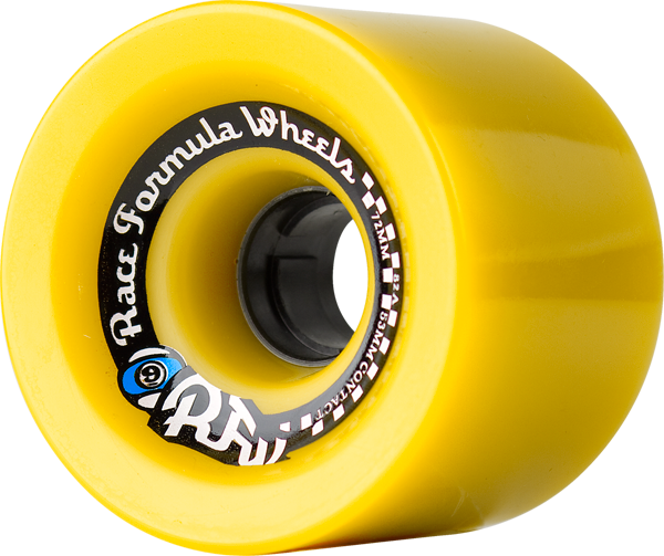 Sec9 Race Formula 72Mm 78A Yellow Offset