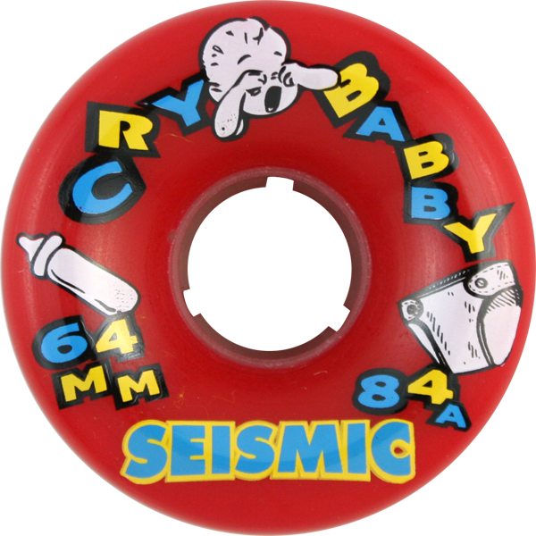 Seismic Cry Baby 64Mm 84A Red