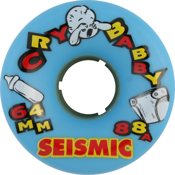 Seismic Cry Baby 64Mm 88A Blue