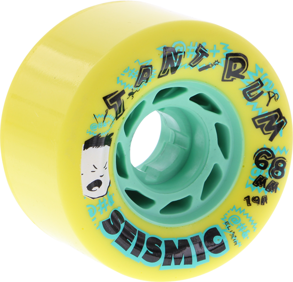 Seismic Tantrum 68Mm 79A Yellow/Mint