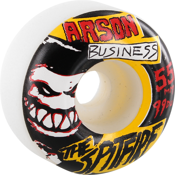 Sf Arson Business 55Mm White