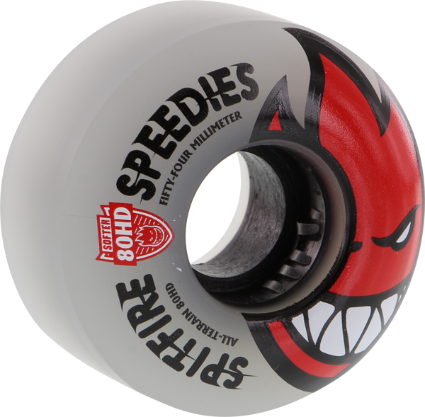 Sf 80Hd Bighead Speedies Clear 54Mm Clear/Red