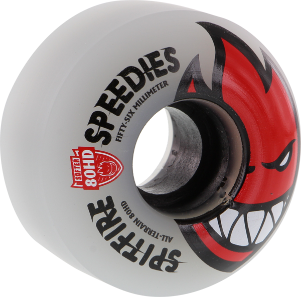 Sf 80Hd Bighead Speedies Clear 56Mm Clear/Red