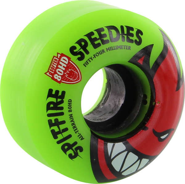 Sf 80Hd Bighead Speedies Meltdown 54Mm Grn/Red