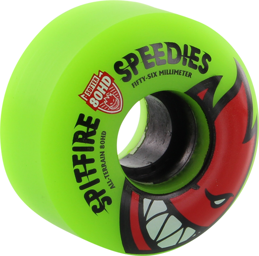 Sf 80Hd Bighead Speedies Meltdown 56Mm Grn/Red