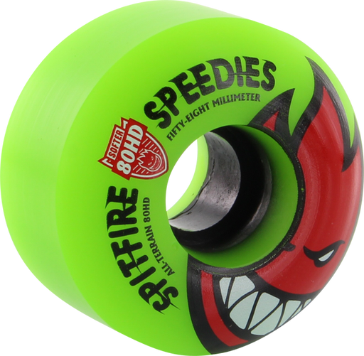 Sf 80Hd Bighead Speedies Meltdown 58Mm Grn/Red